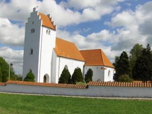 Ørslev Kirche.