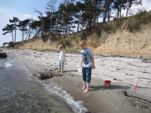 Der Strand ist Kinderfreundlich.
